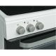 Conjunto de Cocina eléctrica LOGIK LDOC60W17 - Blanca, Doble Horno