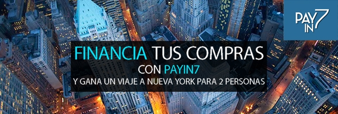 Financia tu compra con Payin7